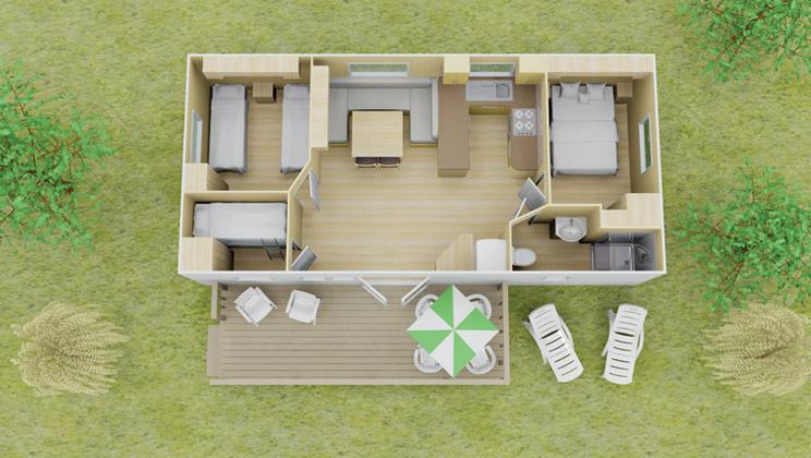 classic stacaravan | 3 slaapkamer | 8 personen | eurocamp.nl, Deco ideeën