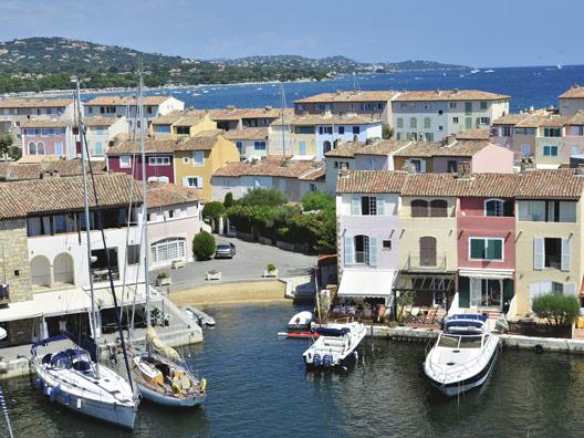 C te d 39 azur provence steden en dorpen for Restaurant port grimaud