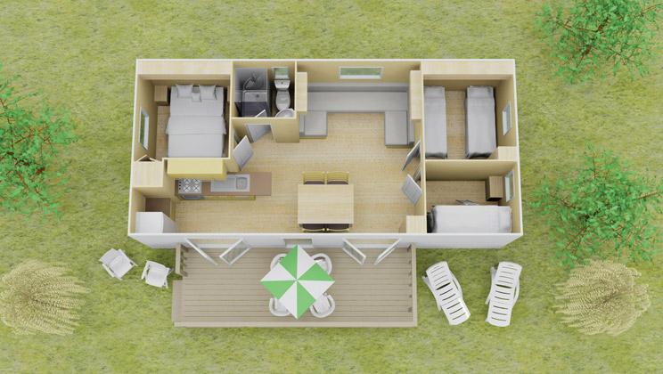 vista stacaravan | 3 slaapkamer | 8 personen | eurocamp.nl, Deco ideeën